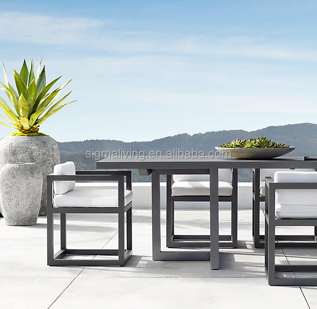 New Arrival outdoor ALUMINUM GARDEN  DINNING CHAIR