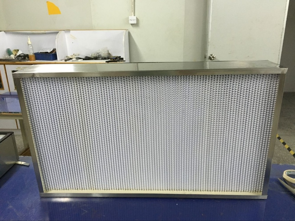 99.99% H13 H14 efficient Pleated HEPA Air Filter