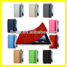 Smart Cover For iPad 4 3 2 mini Smart Cover Ultra Slim Smart Cover PU Leather Case Wholesale Cheap Lot Cases Covers red