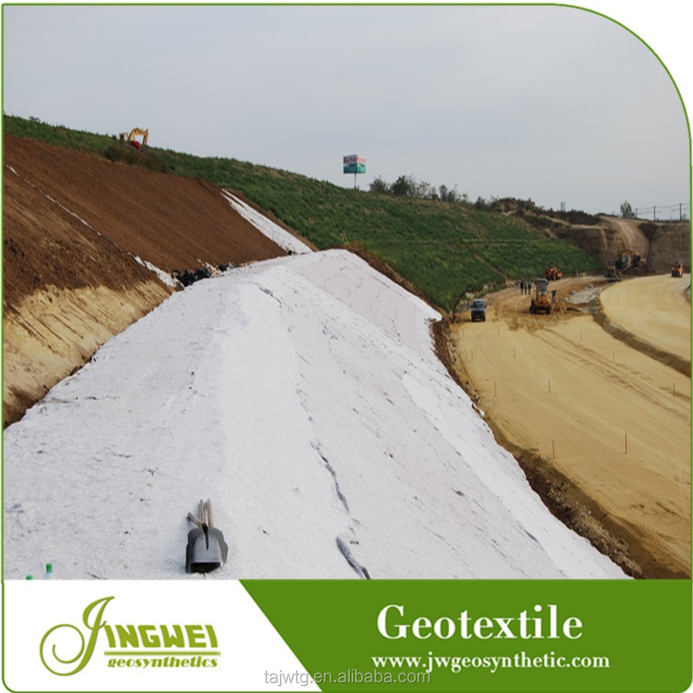 Polyester staple fiber wholesale geotextile uv control