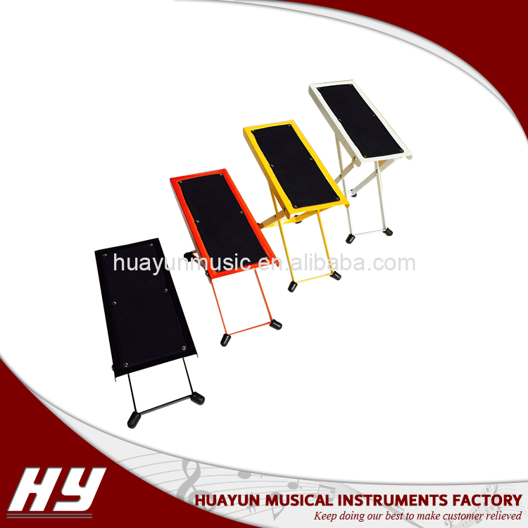 Wholesale adjustable guitar foot stool