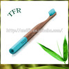 Private label biodegradable manual bamboo toothbrush