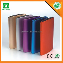 2015 promotional gift 4000mah power bank /mobile power bank charger Fit For Mobile Phones Camera