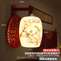ceramic camphorwood interior decoration modern led wall lamp creative indoor living room wall lamps for project