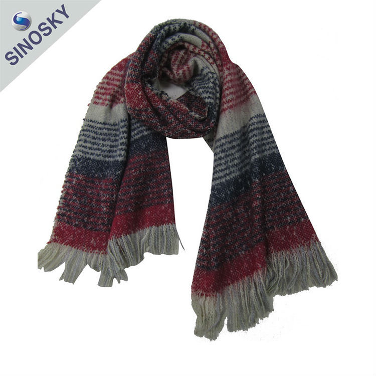 Cheap promotional high quality italian cashmere scarf