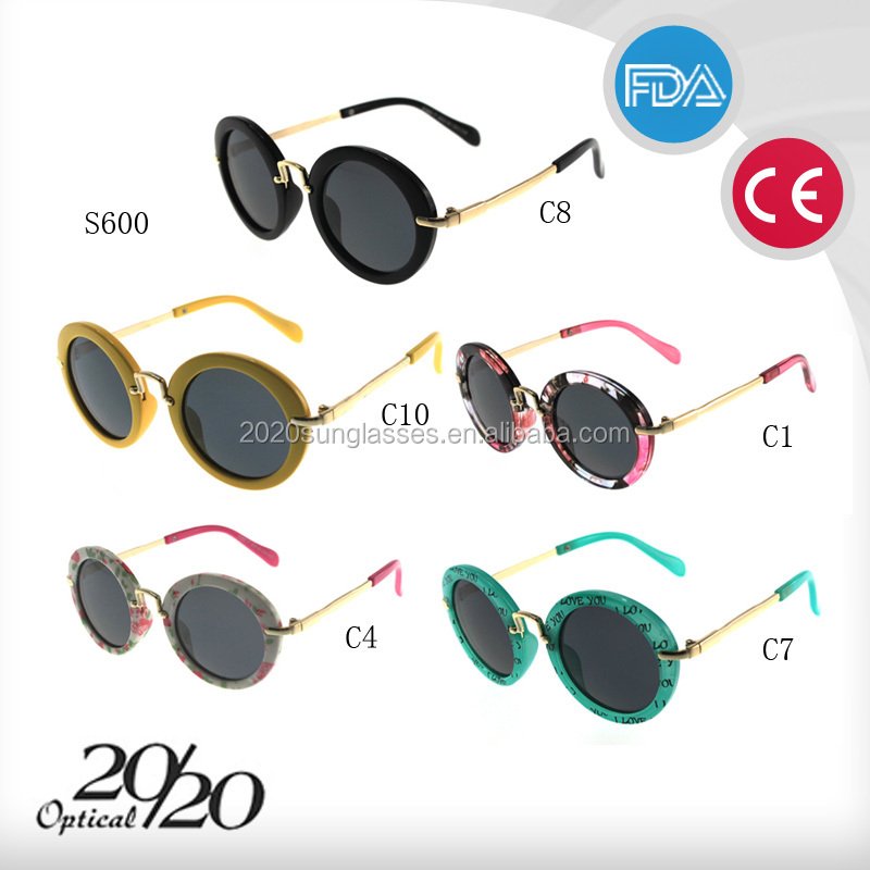 2015 wholesale Italy design fashion kids sunglasses with polarized in stock