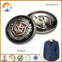 High Quality Custom Metal Military Toggle Fur Coat Buttons