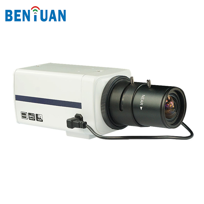1.3 Megapixel Low Lux Box CCTV Security IP Web Camera Systems with 2.8 - 12mm Varifocal Lens