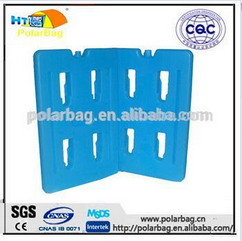 2000ml big hard HDPE ice Plastic Gel Ice brick with SAP gel for medical