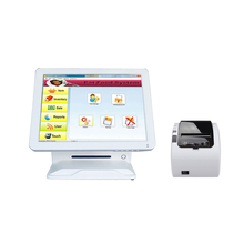 Touch screen pos system with thermal receipt printer lottery pos terminal