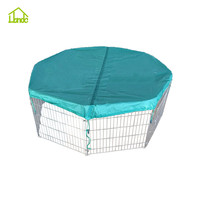Eco-friendly metal folding dog crate pen cage&dog fence