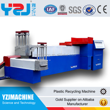 Full automatic PP PE PET bottle latest waste extrusion plastic letter recycle pelletizing machines quality assurance