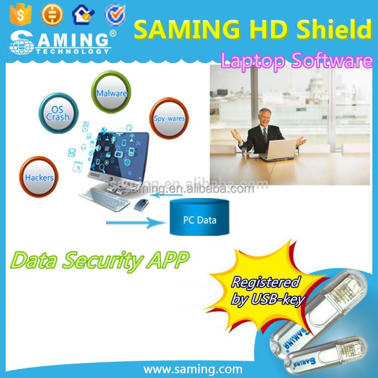 Data security software/Malware/data lost/OS crashed/laptop desktop software/usb key registration/Saming HD Shield