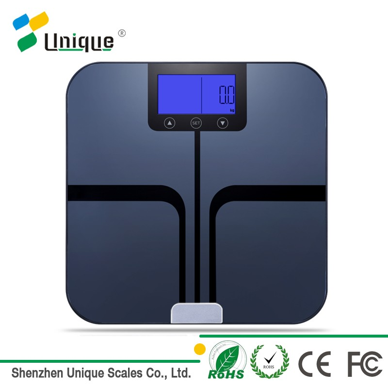 new design health care digital electronic bluetooth household body fat analysis scale