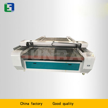 types of jacket fabric material laser cutting machine