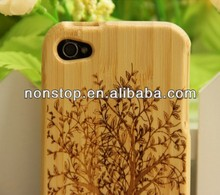 New Real Jordan Wood Bamboo Hard Cover Case for iphone 4 4S