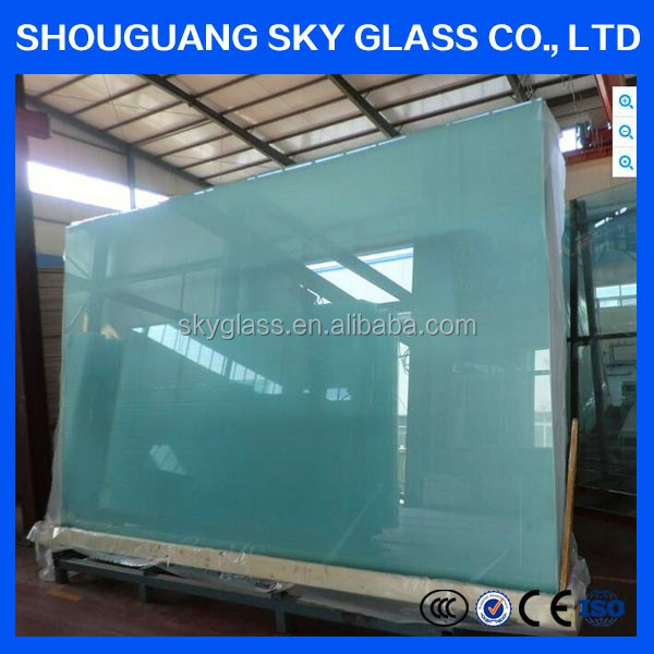Top Quality Safety Laminated Glass / Building Glass Price Per Square Meter