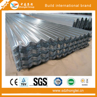 Precoating bright color corrugated heat resistant steel sheet roof