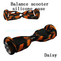 6.5 inch Smart Balance LED mini scooter electric silicone protector/case/skin 2 wheel self balance scooter with bluetooth