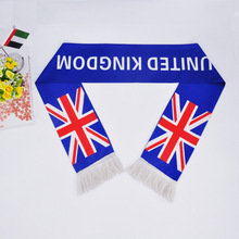 Factory directly supply fashionable British falg scarf A-012941