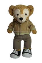 High quality stuffed animal teddy bear toy clothes