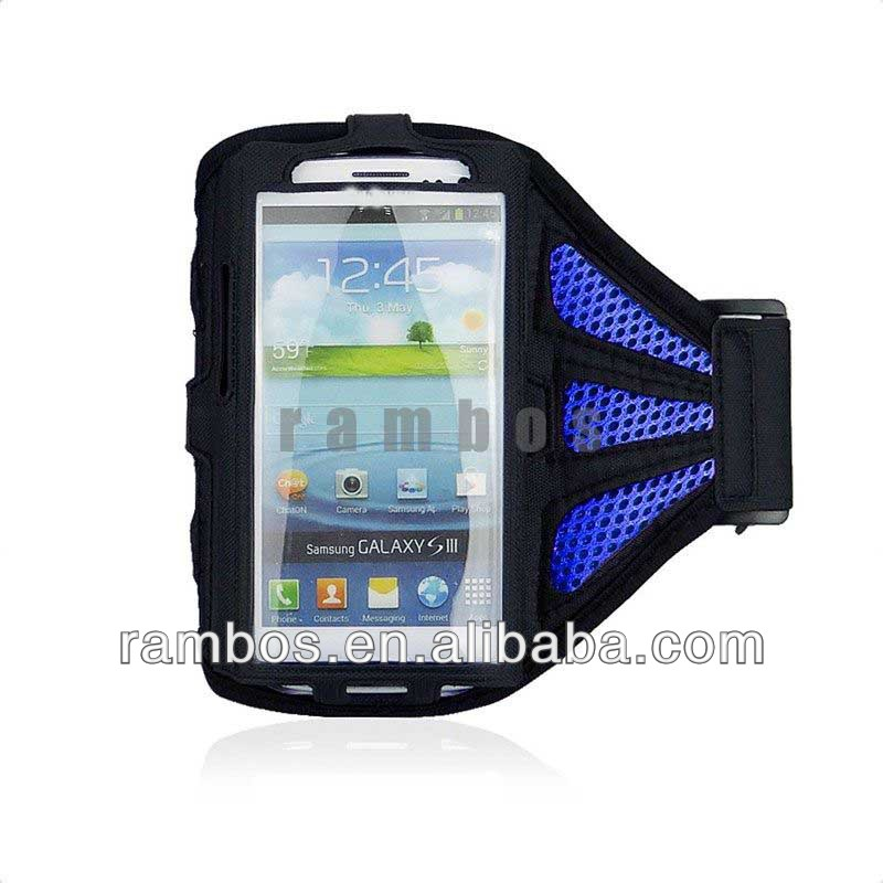 Adjustable Armband Mobile Phone Arm Holder Case Running Cover for Samsung Galaxy S3 i9300