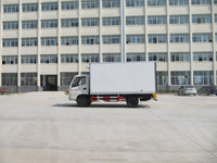 Mini refrigerated truck refrigerator truck transporting fish cooling van body