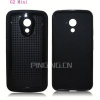 Fashion mesh texture tpu protector cover for LG G2 Mini phone housing case