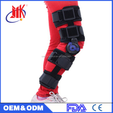 postoperative rehabilitation leg knee support
