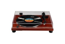 VOXOA T70 Belt-Drive Turntable with High End 3 Speed Wood Turntable