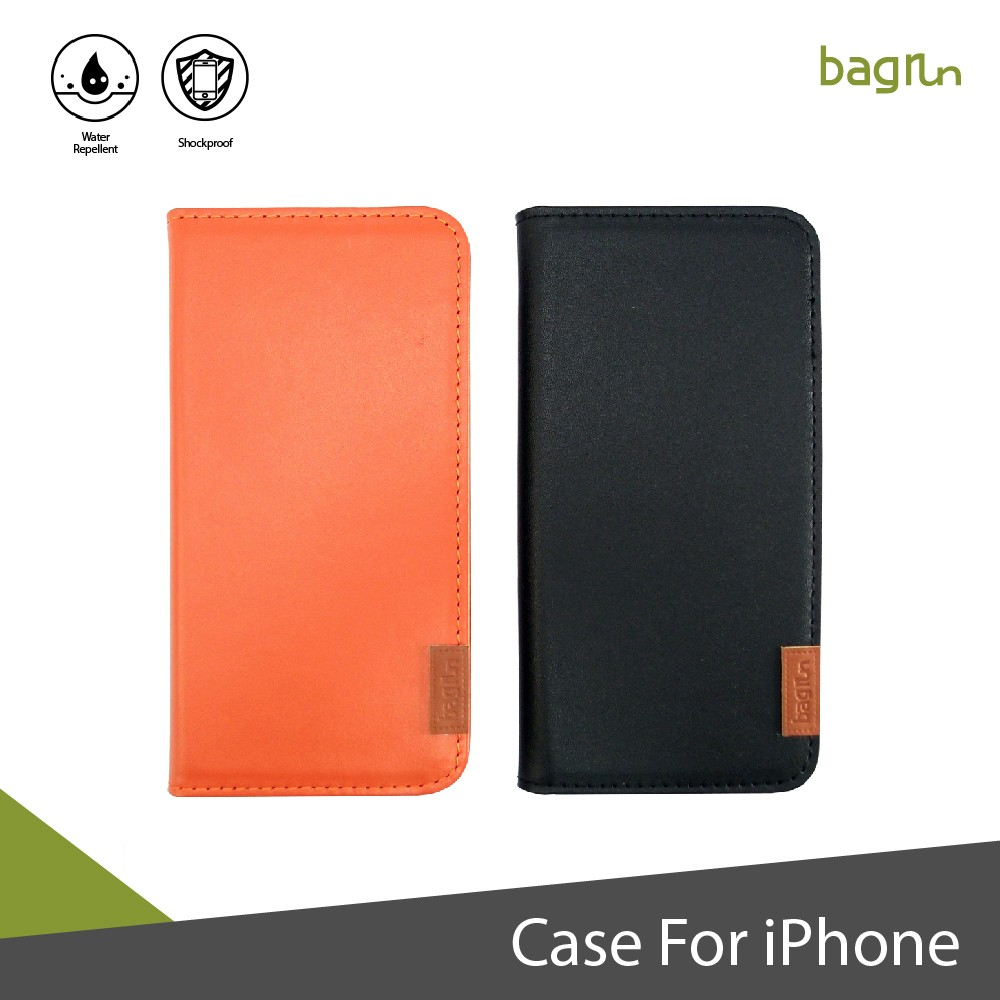 Genuine Leather Stand Function Card Slot Phone Case for iPhone