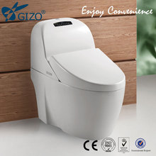 Ceramic mobile toilet automatic hygienic toilet seat small bathroom toilet