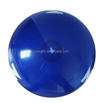 Promotional printing inflatable beach ball