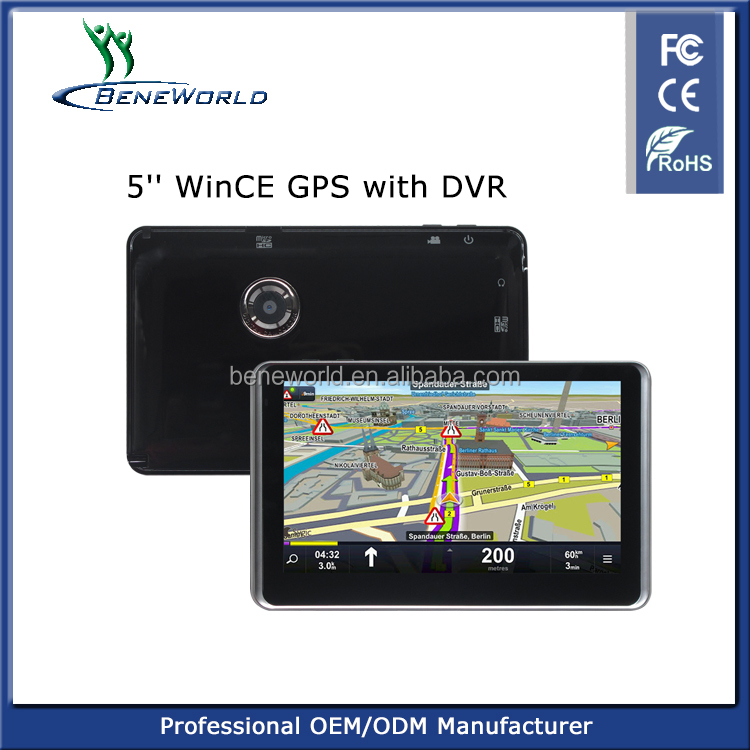 5inch PND GPS with DVR with compecitive price