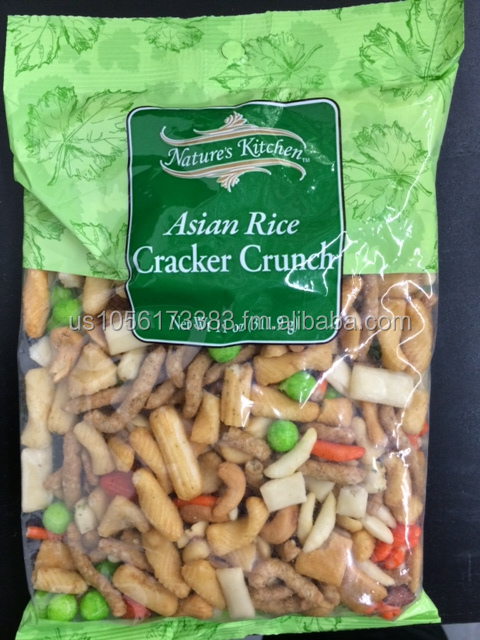 Nature's Kitchen Asian Rice Cracker Crunch 11 OZ Made in USA