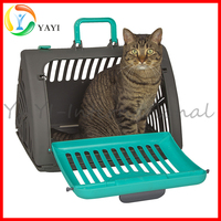 Folding Pet House Cat Carrier Cage