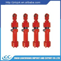 Factory supply double acting hydraulic cylinder for dump trucks
