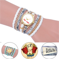 New Fashion Wrap Women Wristwatches Bracelet Quartz Watch relogio personalizado Place Your Design