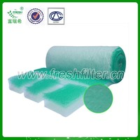 High quality Paint mist filter media paint mist carpet for paint booth(manufacturer)