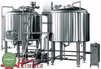 stainless steel beer brewing equipment , malt milling machine
