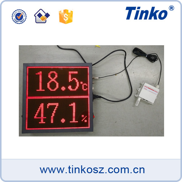 64*64 dot matrix led displays, led display module with alarm output, temperature humidity display