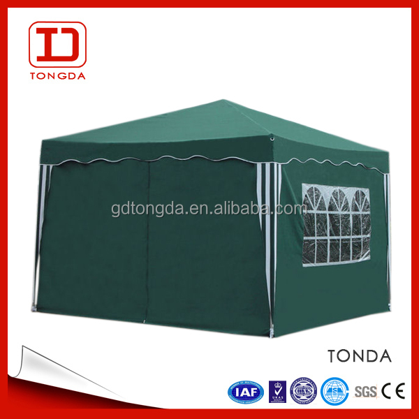 2015 Digtial printing design folding wooden bamboo fixed Tent