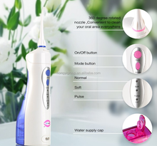 Portable and dental water Flosser electric Cleaner Teeth Oral Irrigator