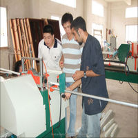 Glass layering cutting saw for PVC doors and windows processing machine