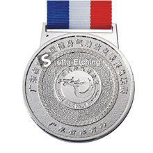 Silver plating custom award medal supplier with competitive price
