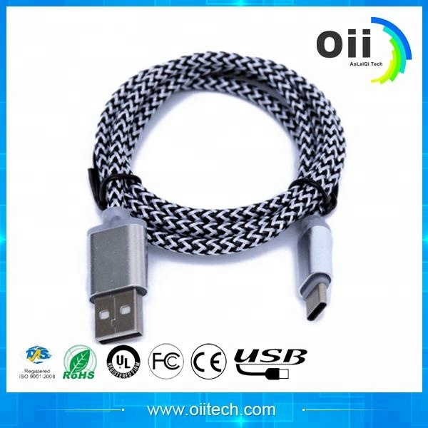 Nylon braid cable, <strong>USB</strong> for apple iphone <strong>USB</strong> charger cable wires