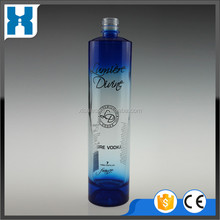 700ML TEQUIAL BLUE BOTTLE BULE VODKA BOTTLE FOR SPIRITS