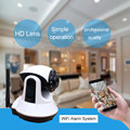 Onvif 720P HD mini wifi alarm system Webcam Night Vision Baby Mornitor wifi alarm system Two-way audio wireless ip camera