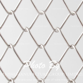 Galvanized chain wire fencing