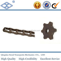 material C45 a series 24A 1'' 1/2X1'' 38T Ptich 38.10 simplex specification standard steel pintle chain sprocket